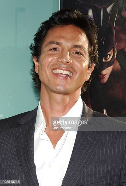 Benjamin Bratt during 'Catwoman' Los Angeles Premiere Arrivals at ArcLight Cinerama Dome in Hollywood California United States