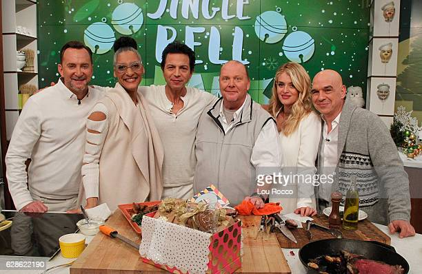 THE CHEW Benjamin Bratt is the guest Tuesday December 6 2016 on ABC's 'The Chew' 'The Chew' airs MONDAY FRIDAY on the ABC Television Network SYMON