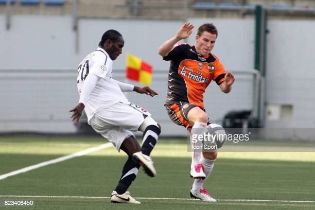 Benjamin Brou ANGOUA / Kevin GAMEIRO Lorient / Valenciennes 9eme journee de Ligue 1