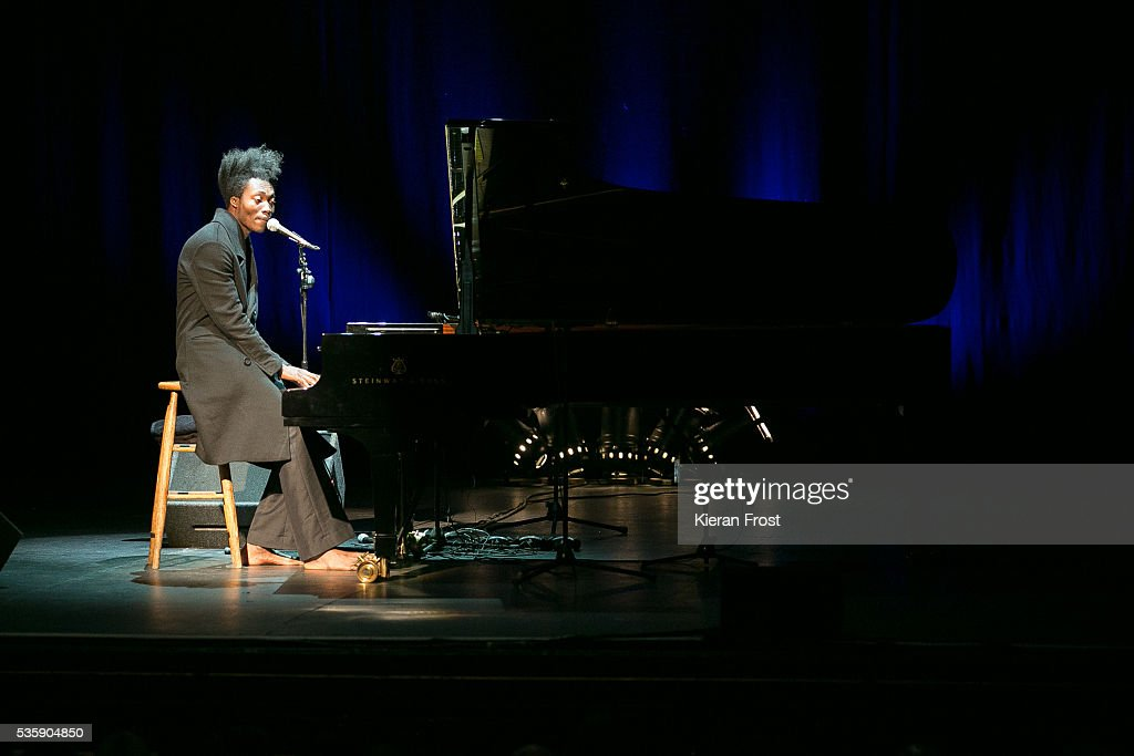 <a gi-track='captionPersonalityLinkClicked' href=/galleries/search?phrase=Benjamin+Clementine&family=editorial&specificpeople=10973866 ng-click='$event.stopPropagation()'>Benjamin Clementine</a> performs at the Olympia Theatre on May 30, 2016 in Dublin, Ireland.