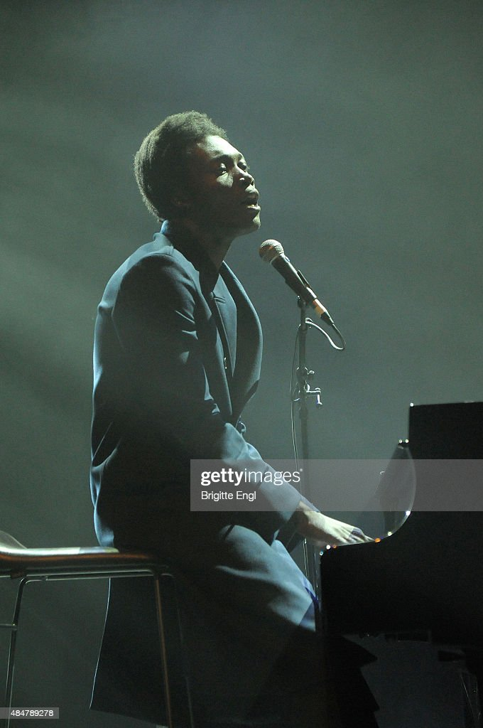 Benjamin Clementine performs on stage at Queen Elizabeth Hall on August 21, 2015 in London, England.