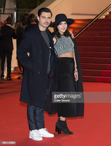 Benjamin Cotto and Nili Hadida the Band Lilly Wood and the Prick attend the16th NRJ Music Awards at Palais des Festivals on December 13 2014 in...