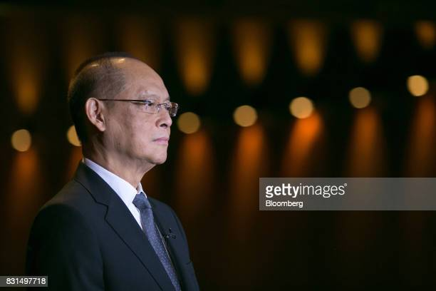 Benjamin Diokno the Philippines' budget secretary attends a Bloomberg Television interview in Singapore on Tuesday Aug 15 2017 Diokno discussed the...