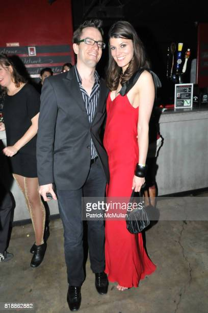 Benjamin Drew and Summer Rayne Oakes attend RAINFOREST ACTION NETWORK's 25th Anniversary Benefit Hosted by CHRIS NOTH at Le Poisson Rouge on April 29...