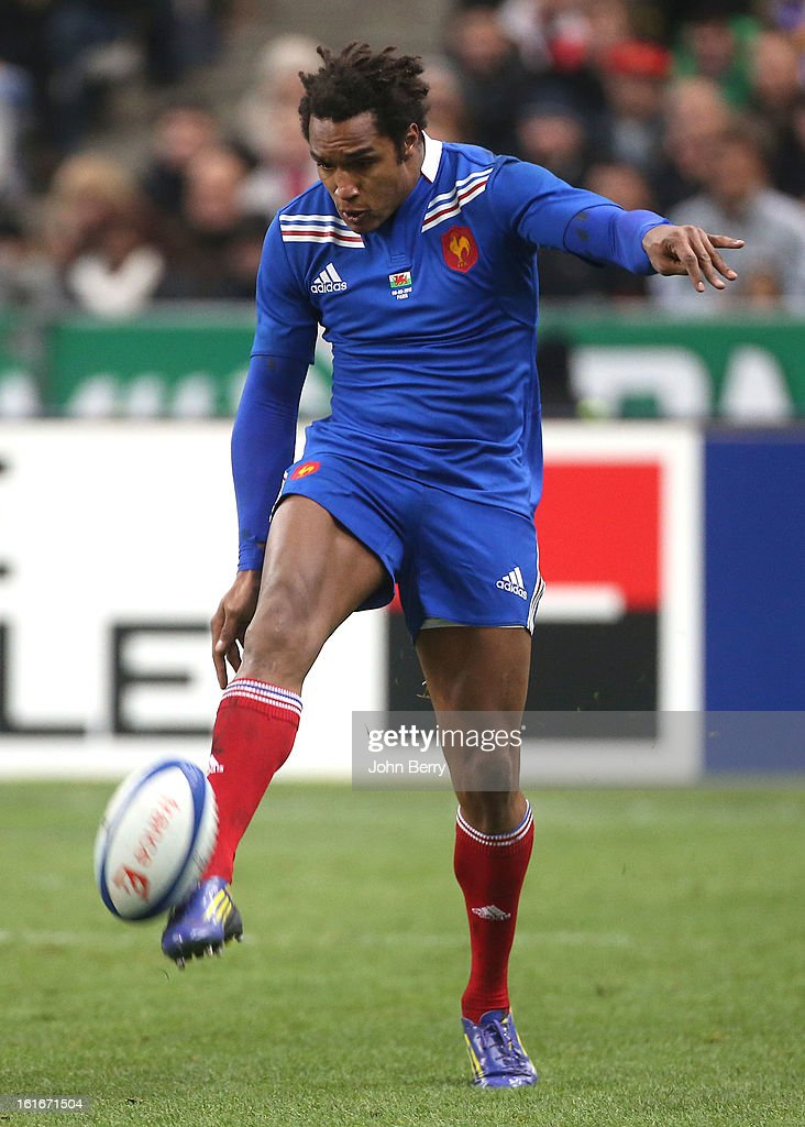 <a gi-track='captionPersonalityLinkClicked' href=/galleries/search?phrase=Benjamin+Fall&family=editorial&specificpeople=5405287 ng-click='$event.stopPropagation()'>Benjamin Fall</a> of France in action during the 6 Nations match between France and Wales at the Stade de France on February 9, 2013 in Paris, France.