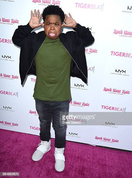 Benjamin Flores Jr arrives at the Tiger Beat's PreParty Around FOX's Teen Choice Awards at HYDE Sunset Kitchen Cocktails on July 28 2016 in West...