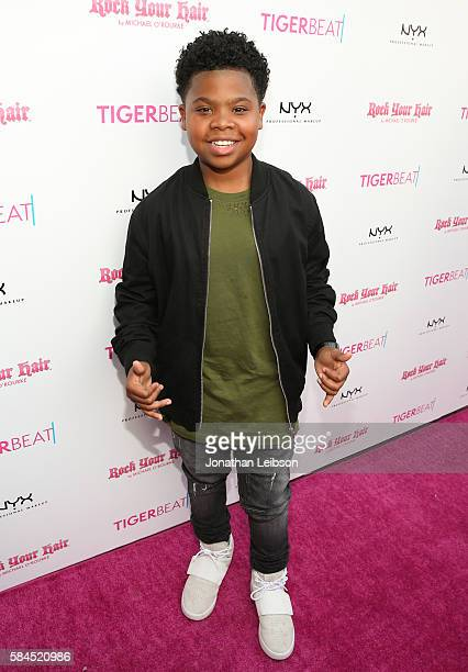 Benjamin Flores Jr attends TigerBeat's Official Teen Choice Awards PreParty Sponsored by NYX Professional Makeup and Rock Your Hair at HYDE Sunset...