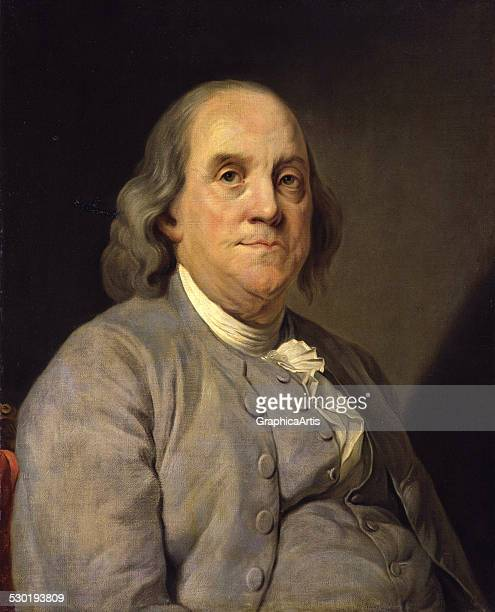 Benjamin Franklin after a portrait by JosephSiffred Duplessis 1783
