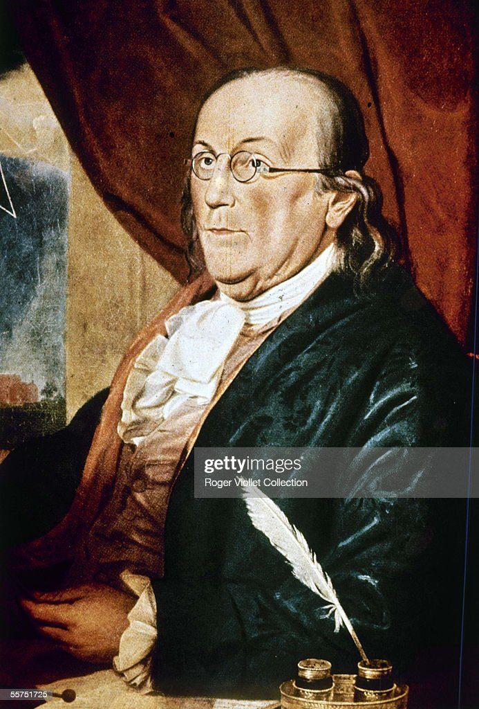 <a gi-track='captionPersonalityLinkClicked' href=/galleries/search?phrase=Benjamin+Franklin&family=editorial&specificpeople=77750 ng-click='$event.stopPropagation()'>Benjamin Franklin</a> (1706-1790), American statesman, by Charles Wilson.