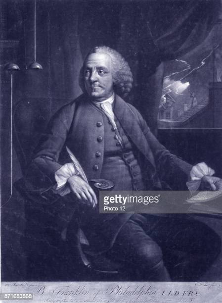 Benjamin Franklin by Edward Fisher 1730approximately 1785 engraver 1780