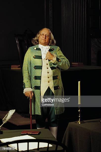Benjamin Franklin , Independence Hall , Philadelphia , PA , USA