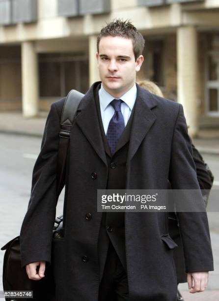 Benjamin Geen arrives at Oxford Crown Court for the first day of his trial Monday 13th February 2006 Geen is accused of murdering two elderly...