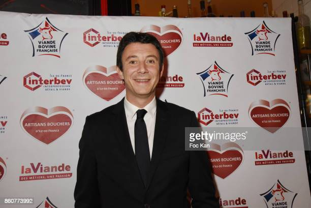 Benjamin Griveaux from LREM attends the 'Boeuf A la Mode' Dinner Hosted by Les Artisans Bouchers de Paris et Ile De France at Le Louchebem on October...