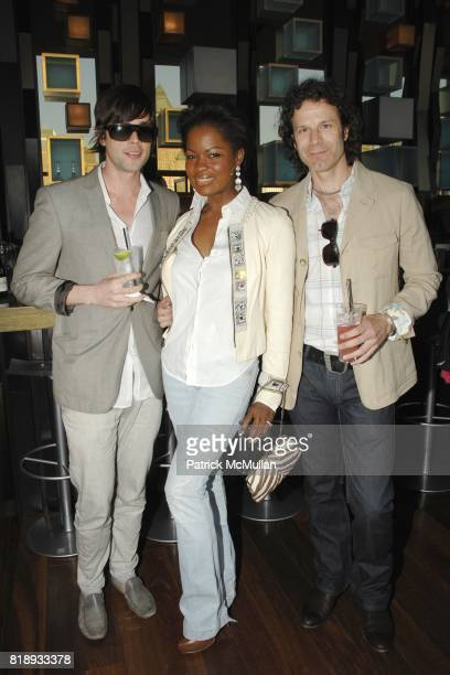Benjamin Hancock Macdella Cooper and Thomas Tafuto attend First Summer Soiree CELEBRATING 25 YEARS of DIFFA hosted by David Rockwell Whoopi Goldberg...