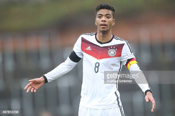 Benjamin Henrichs of Germany during the U19 FourNationsCup Germany vs France on November 17 2015 in Homburg Germany'n