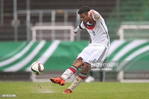 Benjamin Henrichs of Germany during the U19 FourNationsCup Germany vs France on November 17 2015 in Homburg Germany'n