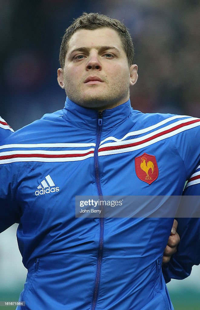 <a gi-track='captionPersonalityLinkClicked' href=/galleries/search?phrase=Benjamin+Kayser&family=editorial&specificpeople=2117538 ng-click='$event.stopPropagation()'>Benjamin Kayser</a> of France poses before the 6 Nations match between France and Wales at the Stade de France on February 9, 2013 in Paris, France.