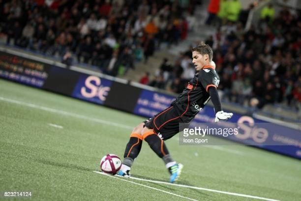 Benjamin LECOMTE Lorient / Saint Etienne 6eme journee de Ligue 1