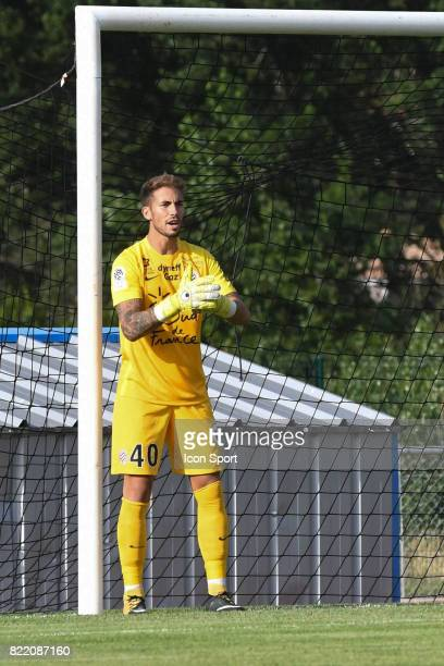 Benjamin Lecomte during the friendly match between Montpellier Herault and Clermont foot on July 19 2017 in Millau France