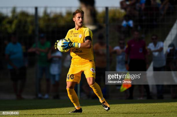 Benjamin Lecomte of Montpellier during the Friendly match between Montpellier and Saint Etienne on July 26 2017 in GrauduRoi France