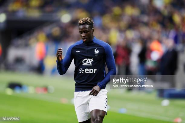 Benjamin Mendy of France during the FIFA 2018 World Cup Qualifier between Sweden and France at Friends Arena on June 9 2017 in Solna Sweden