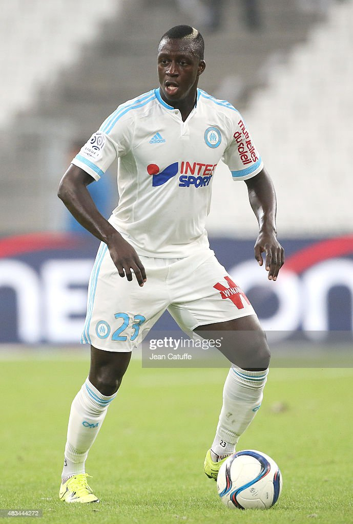 <a gi-track='captionPersonalityLinkClicked' href=/galleries/search?phrase=Benjamin+Mendy&family=editorial&specificpeople=7029850 ng-click='$event.stopPropagation()'>Benjamin Mendy</a> of OM in action during the French Ligue 1 match between Olympique de Marseille (OM) and SM Caen at Stade Velodrome on August 8, 2015 in Marseille, France.