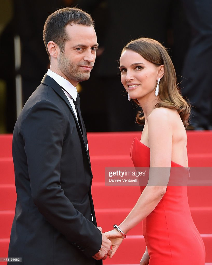 Benjamin Millepied (L) and actress Natalie Portman attend the opening ceremony and premiere of 'La Tete Haute ('Standing Tall') during the 68th annual Cannes Film Festival on May 13, 2015 in Cannes, France.