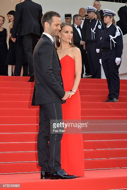 Benjamin Millepied and Natalie Portman attend the opening ceremony and premiere of 'La Tete Haute during the 68th annual Cannes Film Festival on May...