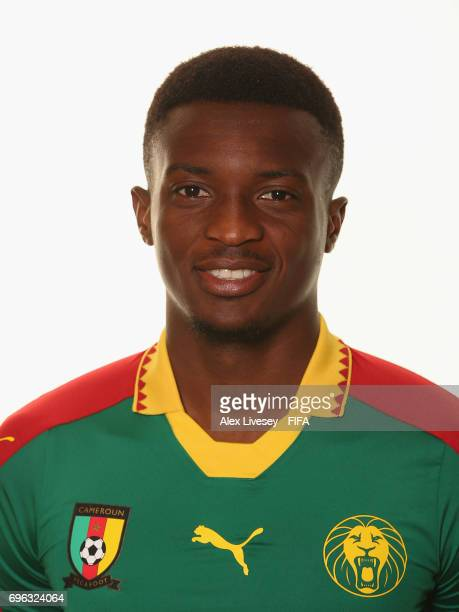Benjamin Moukandjo of Cameroon during a portrait shoot ahead of the FIFA Confederations Cup Russia 2017 at the Renaissance Monarch Hotel on June 15...