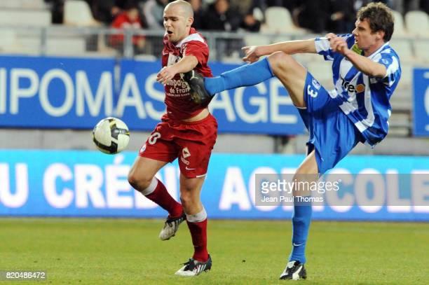 Benjamin NIVET / Sandy PAILLOT Grenoble / Caen 27 eme journee de Ligue 1