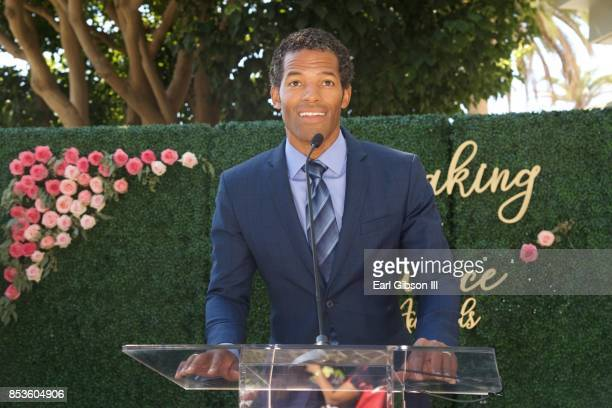 Benjamin Patterson speaks onstage at the Breaking The Silence Awards on September 24 2017 in Santa Monica California