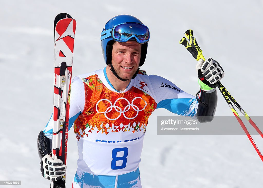 <a gi-track='captionPersonalityLinkClicked' href=/galleries/search?phrase=Benjamin+Raich&family=editorial&specificpeople=209244 ng-click='$event.stopPropagation()'>Benjamin Raich</a> of Austria reacts during the Alpine Skiing Men's Giant Slalom on day 12 of the Sochi 2014 Winter Olympics at Rosa Khutor Alpine Center on February 19, 2014 in Sochi, Russia.