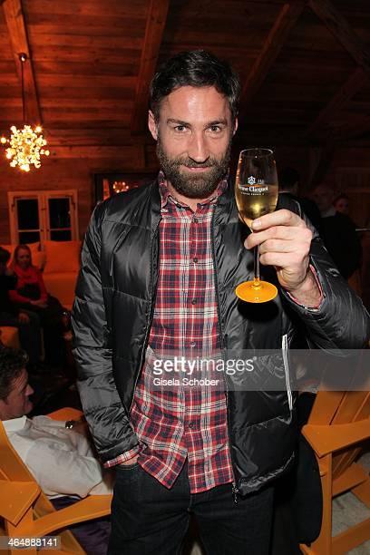 Benjamin Sadler attends 'Clicquot in the Snow' on January 24 2014 in Kitzbuehel Austria