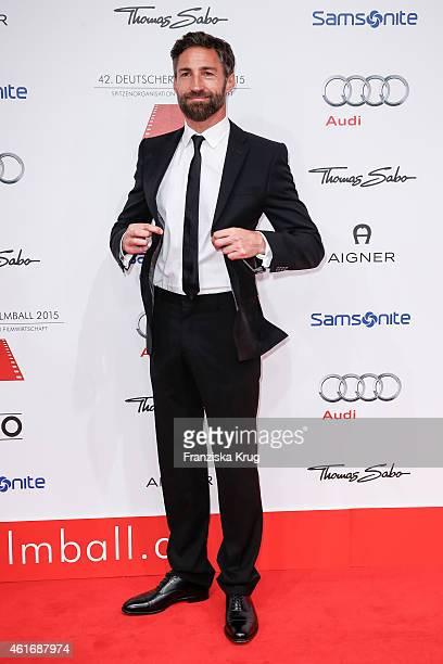 Benjamin Sadler attends the German Film Ball 2015 on January 17 2015 in Munich Germany