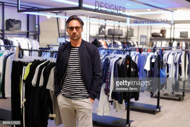 Benjamin Sadler attends the preopening party 'Saks OFF 5TH' at Carsch Haus on June 7 2017 in Duesseldorf Germany