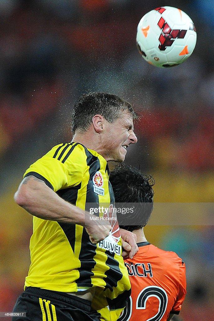 A-League Rd 16 - Brisbane v Wellington