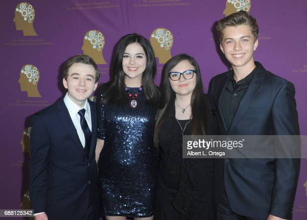 Benjamin Stockham Merit Leighton Marlowe Peyto and Jacob Hopkins at The Jonathan Foundation Presents The 2017 Spring Fundraising Event To Benefit...