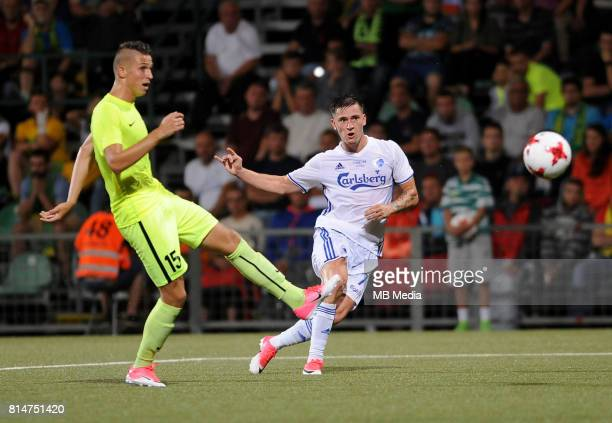 Benjamin Verbic during the UEFA European Champions League Second qualifying round Match 1 match between MSK Zilina FC Copenhagen at Stadion pod...