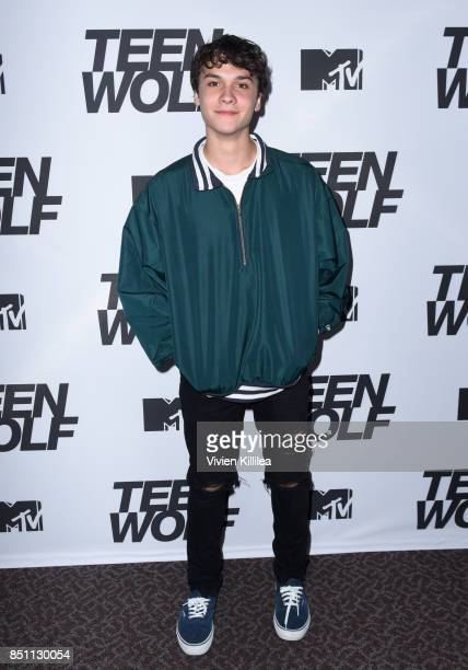 Benjamin Wadsworth at the MTV Teen Wolf 100th episode screening and series wrap party at DGA Theater on September 21 2017 in Los Angeles California