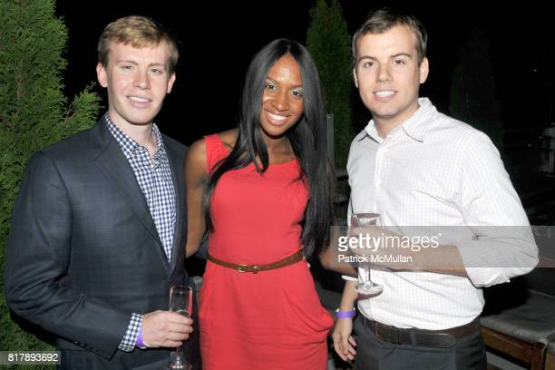 Benjamin Watson Delvina Smith and Worth Turner attend ASSOCIATION to BENEFIT CHILDREN Junior Committee Fundraiser at Gansevoort Hotel on September 14...