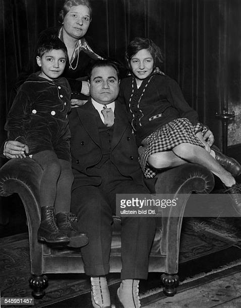 Benjamino Gigli Singer Actor Italy with his Family 1926