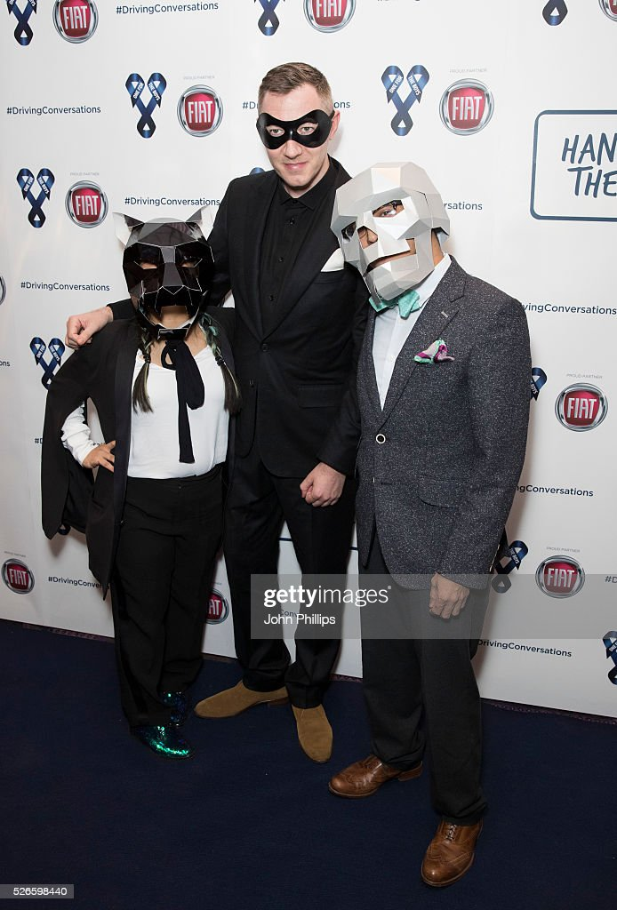 Benji B arrives at the One For The Boys Charity Event Masquerave sponsored by FIAT at the Troxy on April 30, 2016 in London, England.