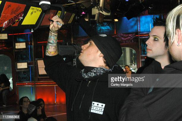 Benji Madden Billy Martin and Paul Thomas of Good Charlotte *Exclusive*