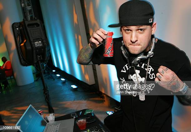 Benji Madden during 2006 Newport Beach Film Festival 'Separate Volume' After Party at Orange County Museum of Art in Newport Beach California United...