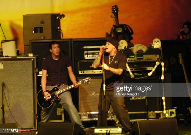 Benji Madden of Good Charlotte joins Mest on stage