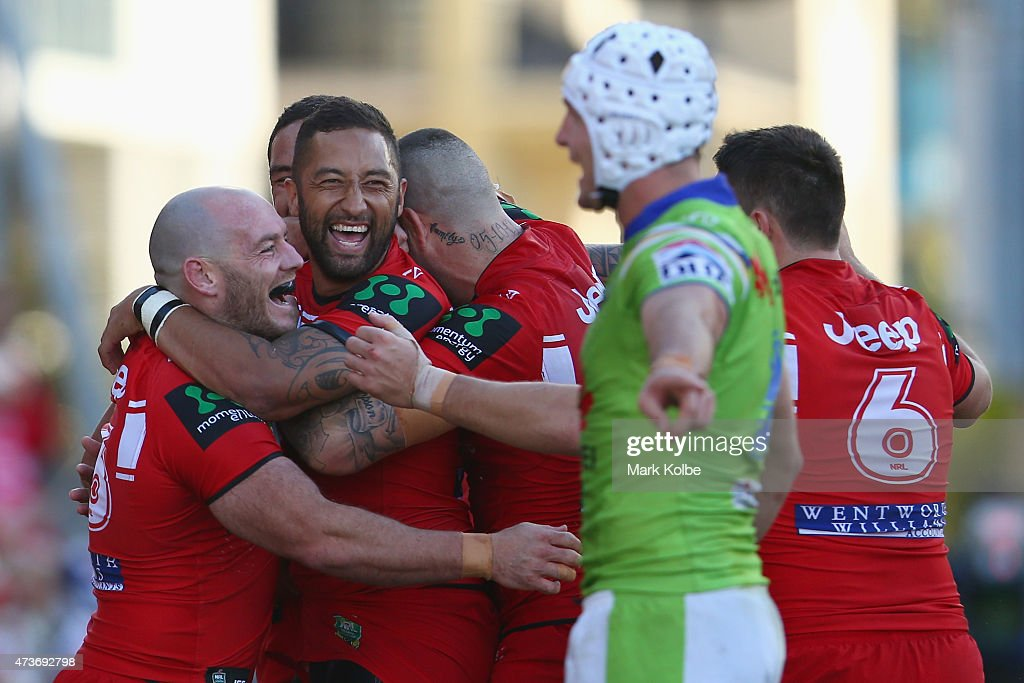 NRL Rd 10 - Dragons v Raiders