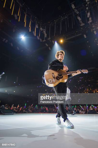 Benji of Benji Fede Performs at Mediolanum Forum on March 4 2017 in Milan Italy