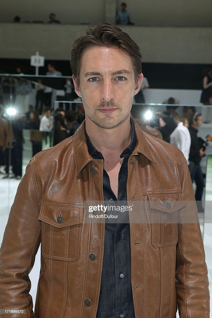 Benn Northover attends Dior Homme Menswear Spring/Summer 2014 show as part of Paris Fashion Week on June 29, 2013 in Paris, France.