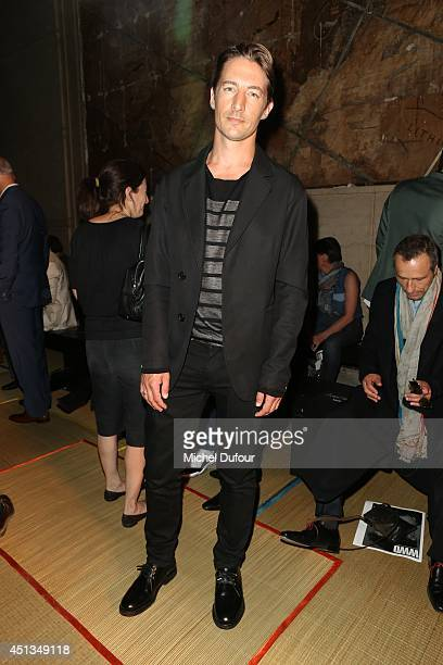 Benn Northover attends the Cerruti show as part of the Paris Fashion Week Menswear Spring/Summer 2015 on June 27 2014 in Paris France