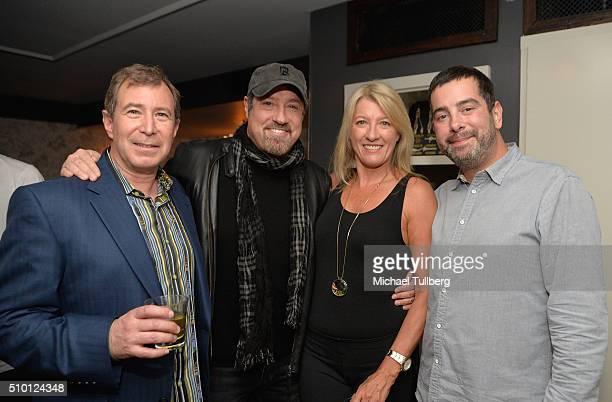 Bennett Kaufman John Shanks Kim Frankiewicz and Imagem Music President Jason Jordan attend the Imagem Music PreGrammy Party on February 13 2016 in...